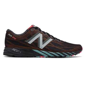 New Balance 1400系列 纽约马拉松限定款 男款 透气网面 舒适贴合, 黑色