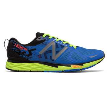 New Balance New Balance 1500v3, Electric Blue with Lime Glo \u0026 Black