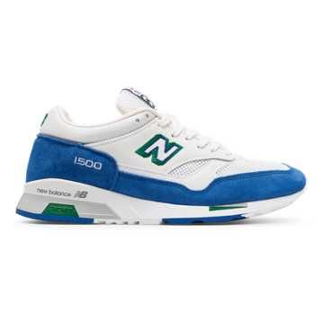 New Balance 1500 Made in UK Cumbrian Pack, Blue with White & Yellow