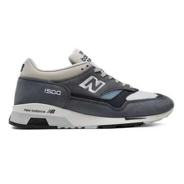 New Balance 1500复古鞋 男款 避震稳定 时尚复古, 蓝灰色/白色