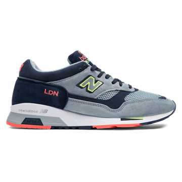 New Balance London Edition 1500 Made in UK, Grey with Orange & Navy