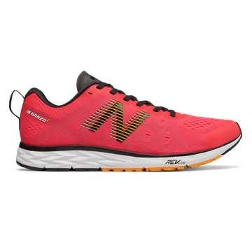 New Balance 1500系列 男款 舒适贴合 轻量提速, 妃橘色