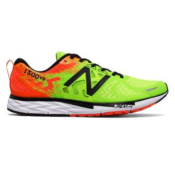 New Balance New Balance 1500v3, Lime Glo with Alpha Orange