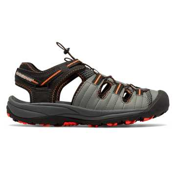 New Balance Appalachian Sandal, Black with Orange