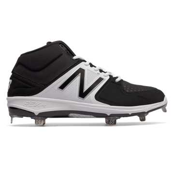 New Balance Mid-Cut Metal 3000v3, Black with White