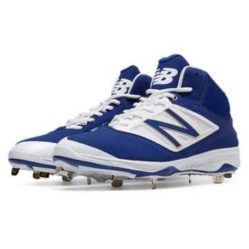 new balance blue molded baseball cleats