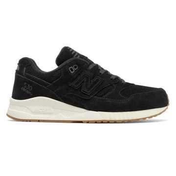New Balance 530系列复古鞋, 黑色