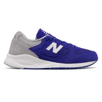 New Balance 530 Suede, Blue with Light Grey