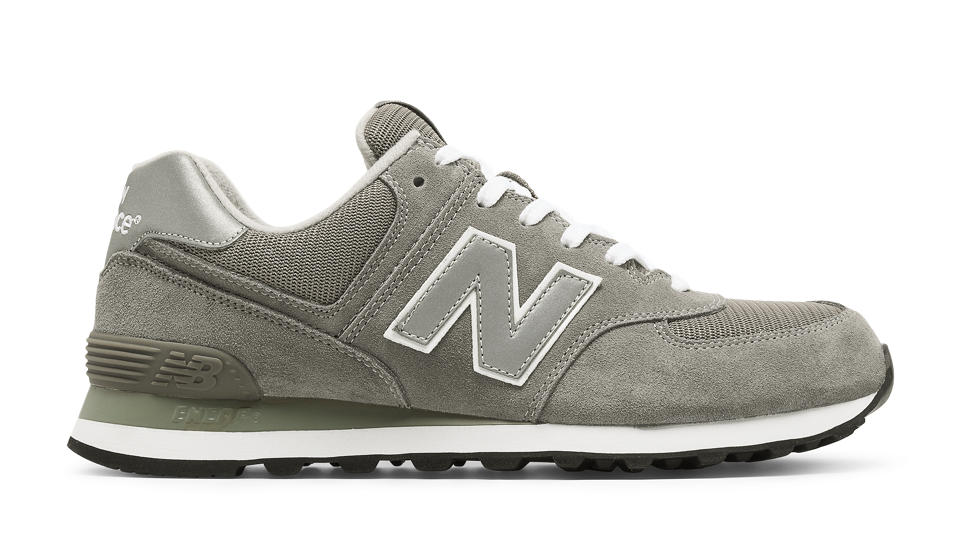 New Balance Grey Mens Shoes Running