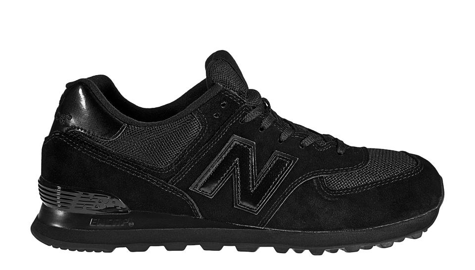 new balance 574 all black femme