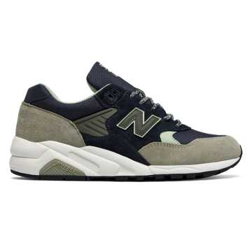 New Balance 585 Made in USA, Outerspace with Trench