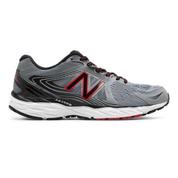 new balance hommes. new balance 680v4, steel with black \u0026 alpha red hommes