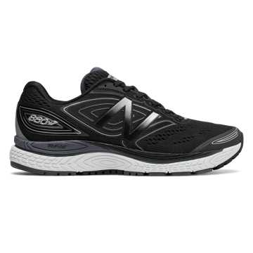 New Balance 880v7, Black with Thunder