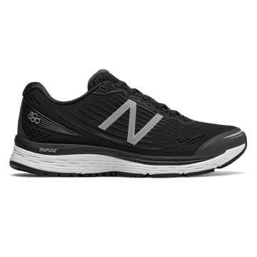 New Balance 880v8, Black with White
