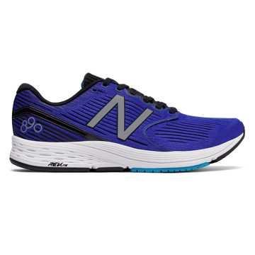 New Balance 890系列 男款 轻量缓震 舒适透气, 电光蓝