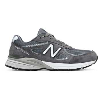 New Balance Mens Reflective 990v4, Dark Grey
