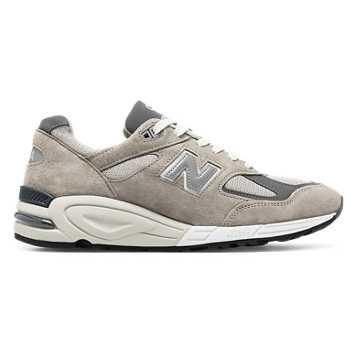 New Balance 990复古鞋 中性款 避震保护 美国原产, 灰色