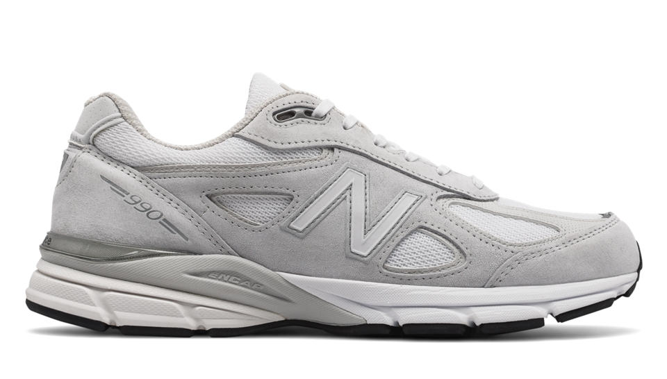 New Balance New Balance 990v4, Nimbus Cloud with White