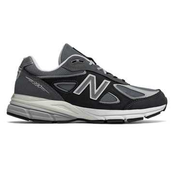 New Balance Mens 990v4 Made in US, Magnet with Silver Mink