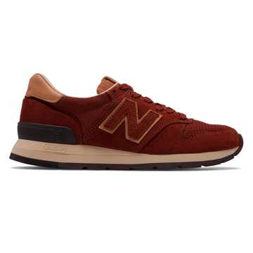 New Balance 995 Baseball, Brown with Tan