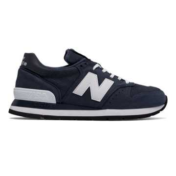 New Balance 995 Nubuck, Navy with White