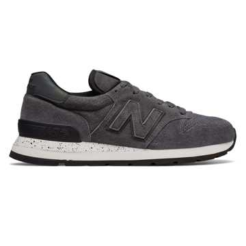 New Balance 995 Northern Lights, Grey with Black