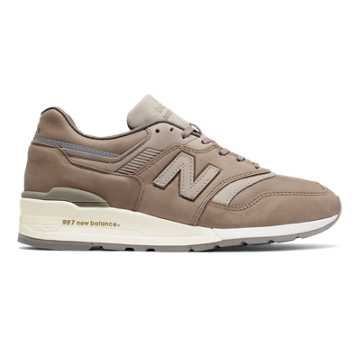 New Balance 997 Made in USA, Beige with Grey
