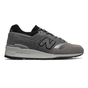 New Balance 997 Winter Peaks, Grey with Black