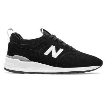 New Balance 997复古鞋 中性款 轻量舒适 美国原产, 黑色