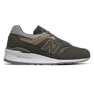 New Balance 997 Winter Peaks, Military Green with Grey