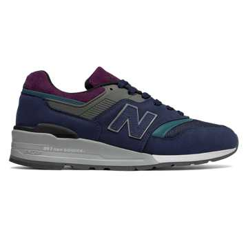 New Balance 997 Northern Lights, Navy with Grey