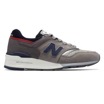 New Balance New Balance x Woolrich 997, Grey with Navy & Red