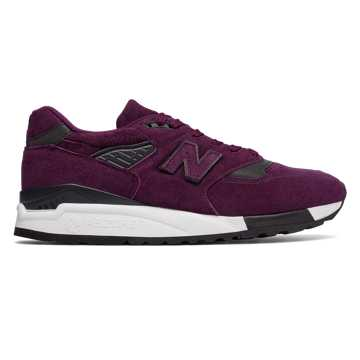 New Balance 998 Made in US Color Spectrum, Imperial with Black
