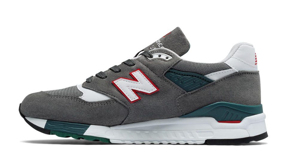 new balance 998 gray zr2g  NB 998 New Balance, Grey with Red