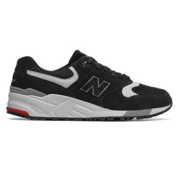 New Balance 999复古鞋 中性款 避震保护 美国原产, 黑色