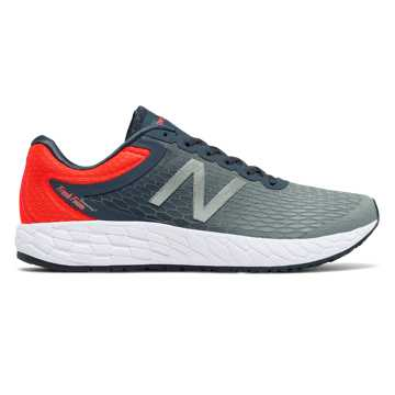 New Balance Fresh Foam Boracay v3, Thunder with Alpha Orange