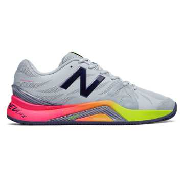 New Balance New Balance 1296v2, Light Grey with Pigment & Energy Lime