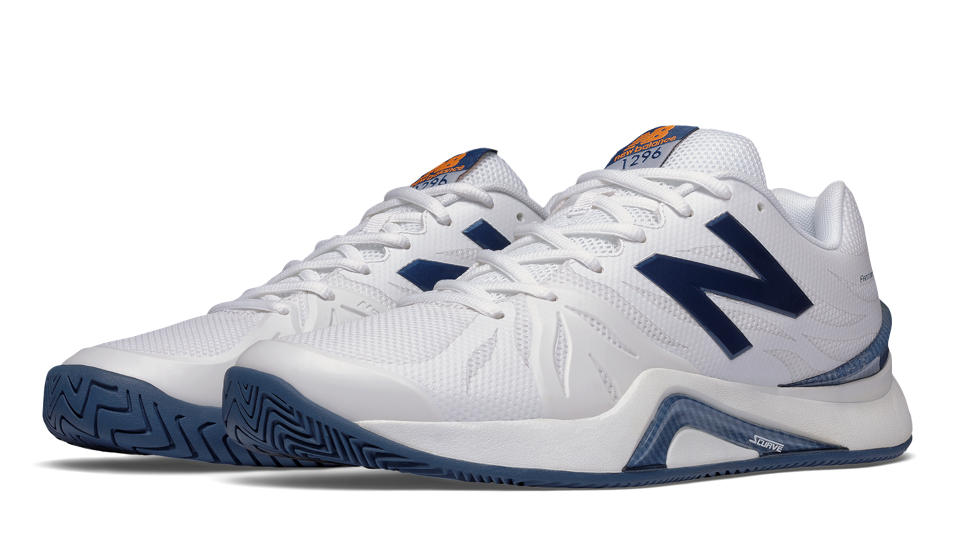 New Balance Mens Tennis Shoes White/Blue