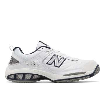 New Balance Court 806, White with Navy