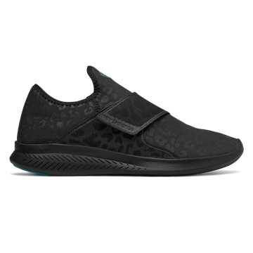 New Balance Fuel Coast系列运动鞋 男款 轻量舒适 方便穿脱, 黑色