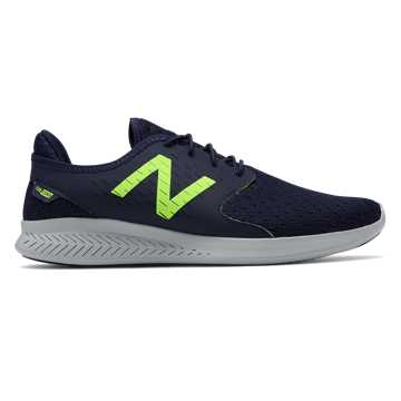 New Balance FuelCore Coast v3, Pigment with Energy Lime