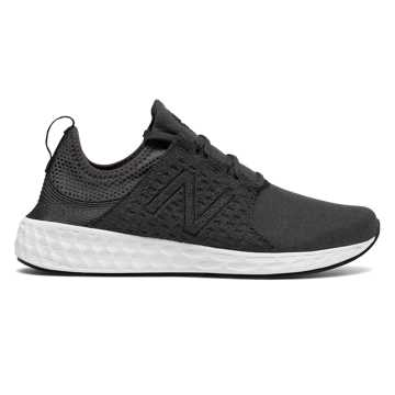 New Balance Mens Fresh Foam Cruz Retro Hoodie, Black