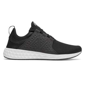 New Balance Fresh Foam Cruz 跑步鞋 男款 轻量缓震 时尚外观, 黑色