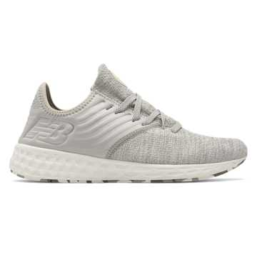New Balance Fresh Foam Cruz Decon, Stone Grey with White