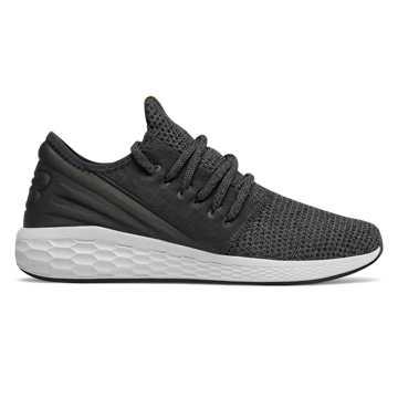 New Balance Fresh Foam Cruz系列 跑步鞋 男款 轻量缓震 时尚外观, 黑色