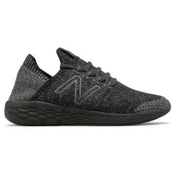 New Balance Fresh Foam系列 男款 轻量透气 舒适缓震, 黑色