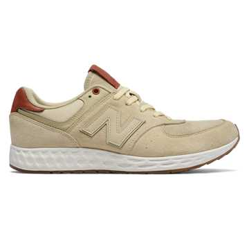 New Balance 574 Fresh Foam, Beige with Brown