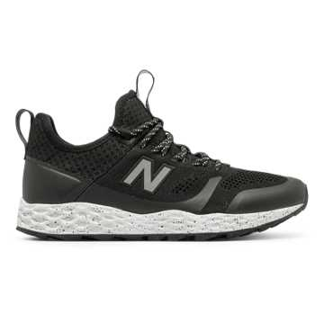 New Balance Fresh Foam Trailbuster, Black with White