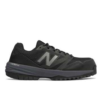 New Balance Composite Toe 589, Black with Grey