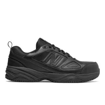 New Balance Steel Toe 627v2 Leather, Black